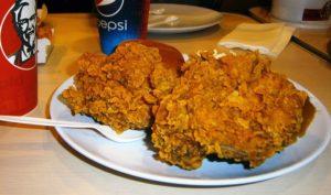 KFC Frying Chicken