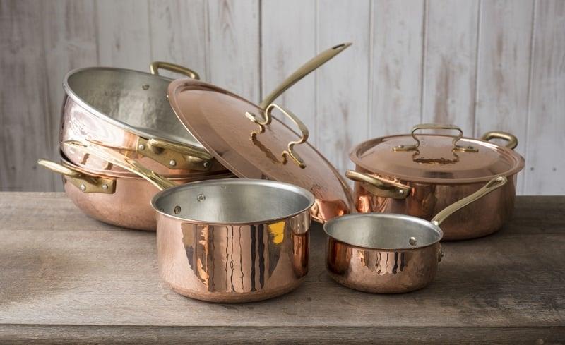 Copper Cookware Advantages and Disadvantages