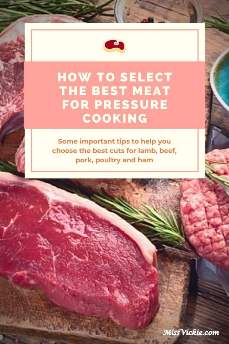 Select Best Meat For Pressure Cooking