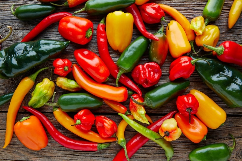 Type of Peppers