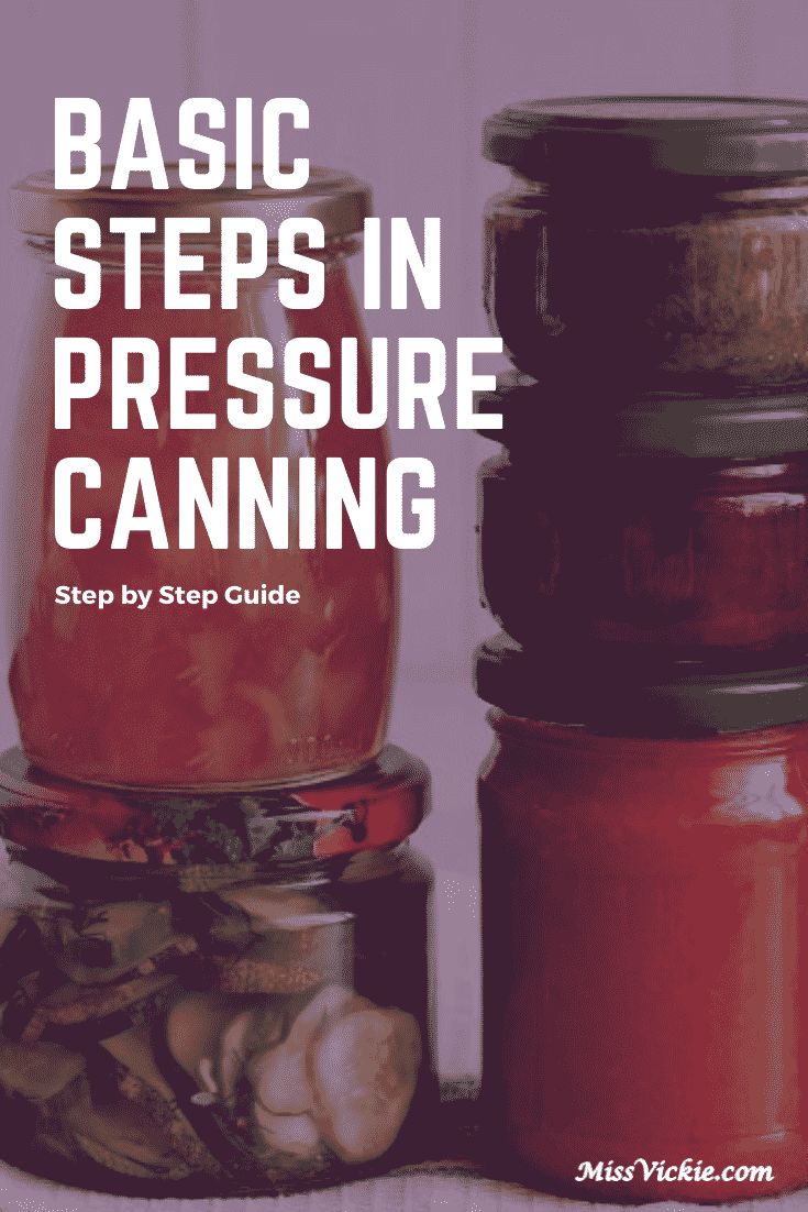 Basic Steps in Pressure Canning