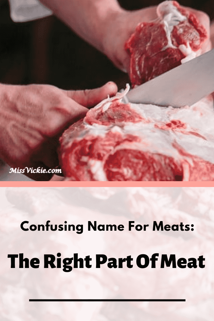 Confusing Name Games for Meats