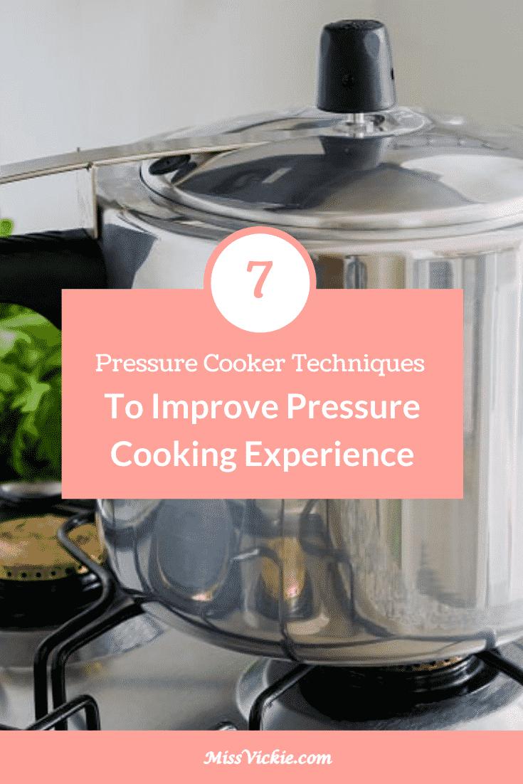 Pressure Cooker Techniques