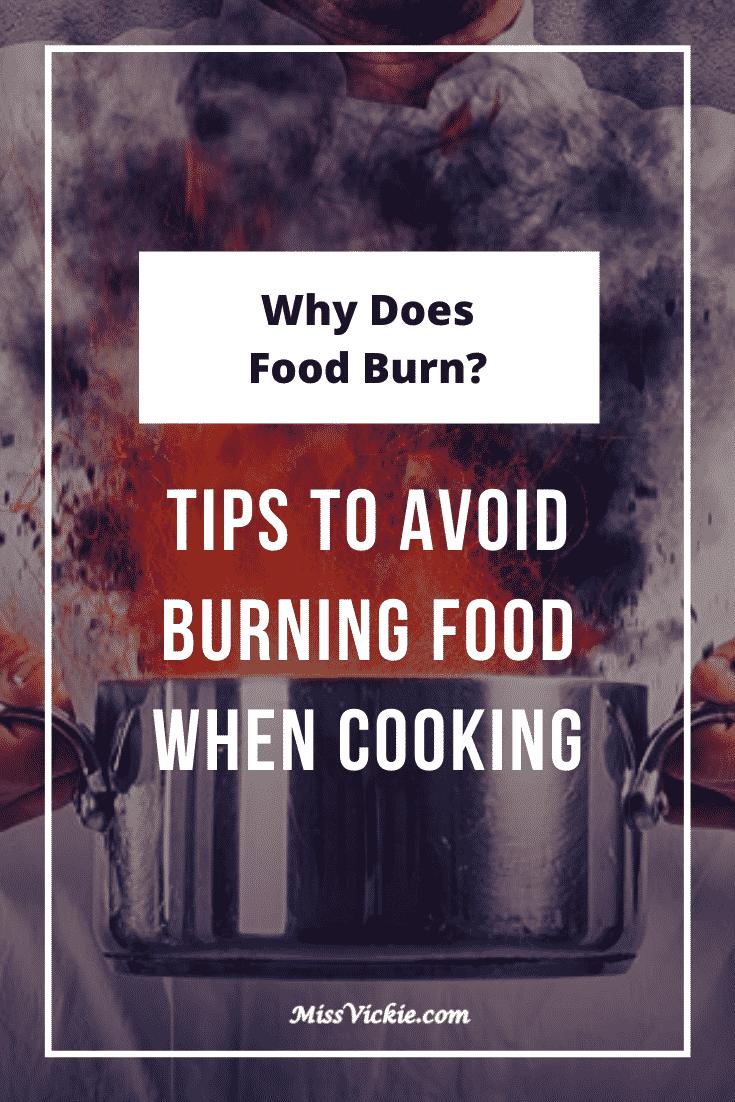 Why Does My Food Burn