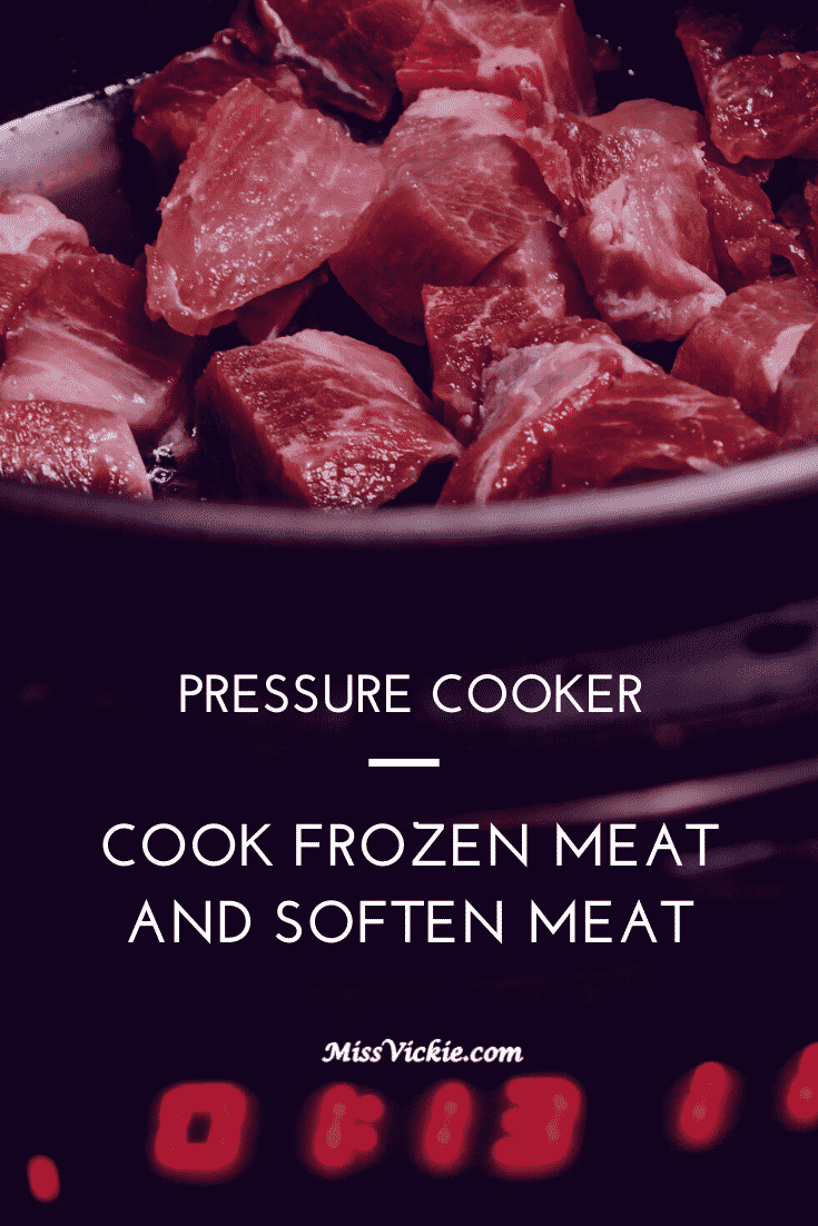 Can Pressure Cooker Cook Frozen Meat And Soften Meat