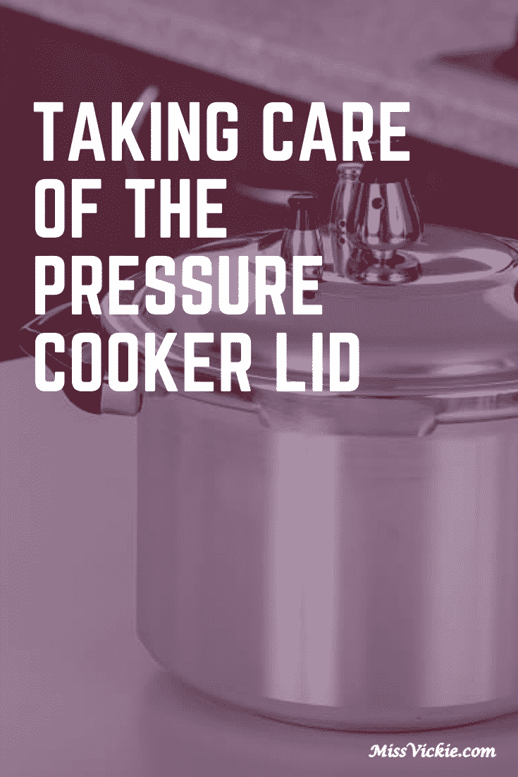 Caring For The Pressure Cooker Lid