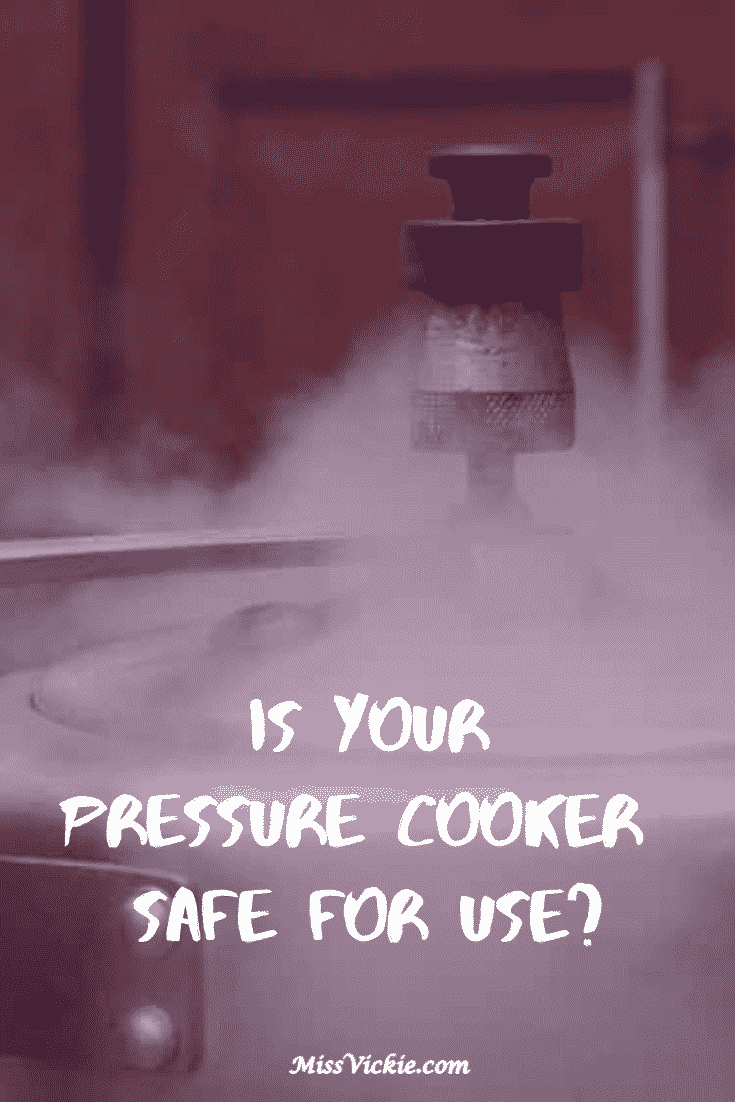 Check Your Pressure Cooker For Safety