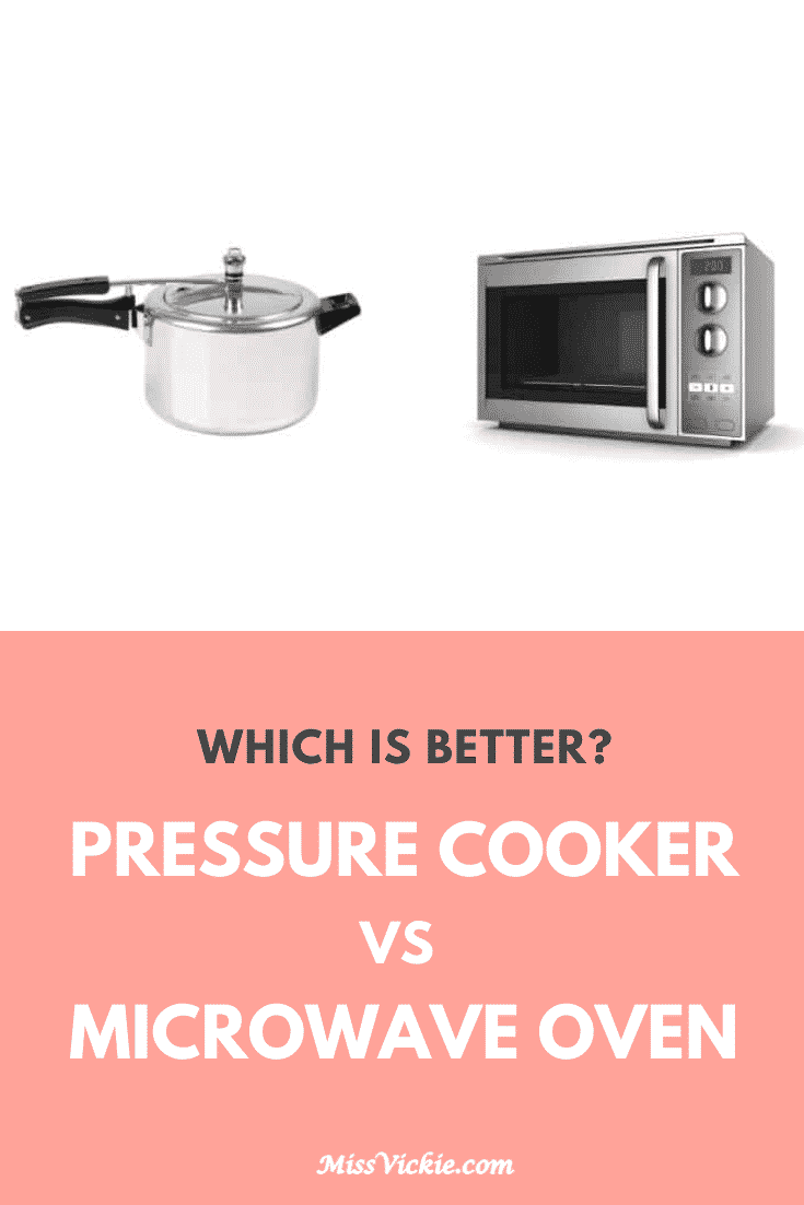Pressure Cooker vs Microwave Oven