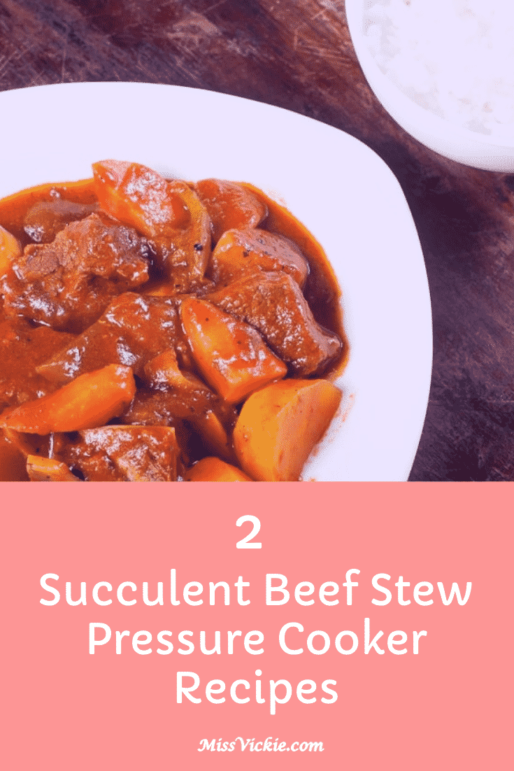 Beef Stew Pressure Cooker Recipes