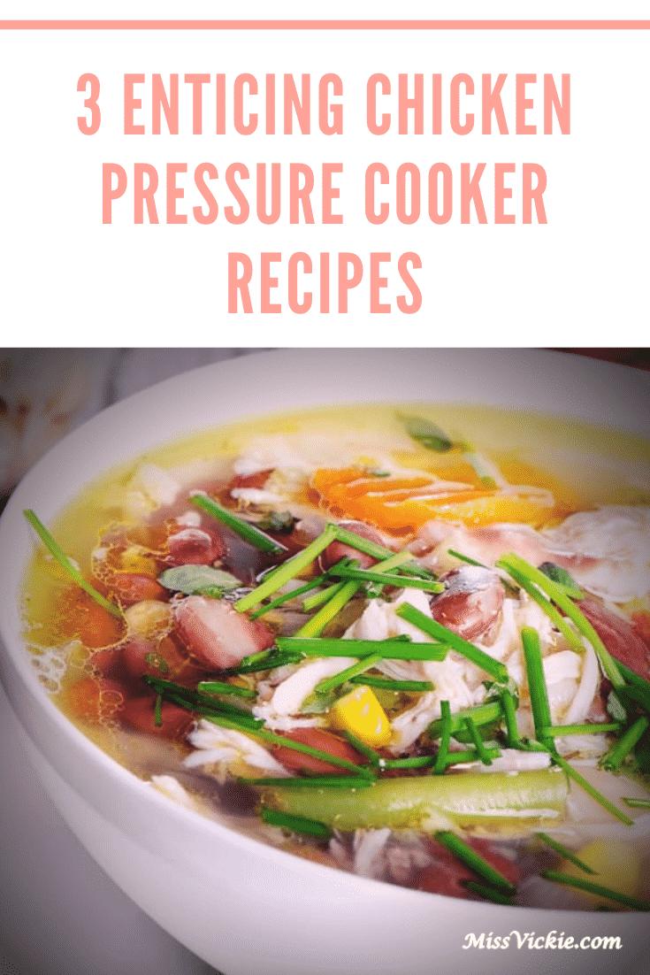 Chicken Pressure Cooker Recipes