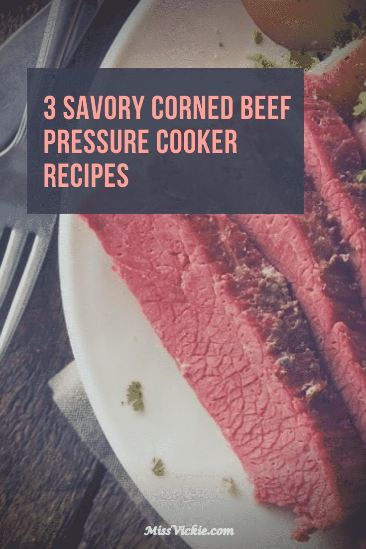 Corned Beef Pressure Cooker Recipes