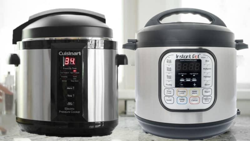 Cuisinart vs Instant Pot