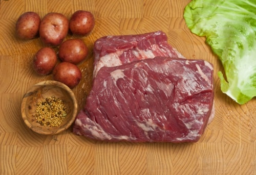 Prep your corned beef