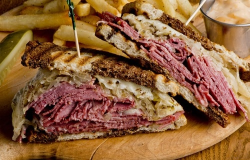 Sliced corned beef makes amazing sandwiches