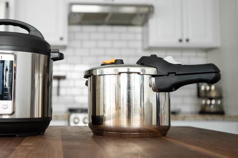 Electric and Stovetop Pressure Cooker
