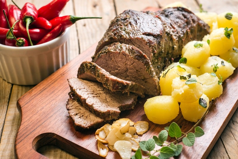 Sirloin Tip Roast Pressure Cooked