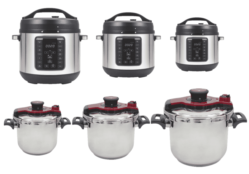 Suitable Pressure Cooker Size For Family Of 4