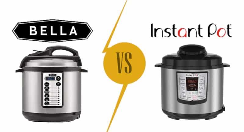 Pressure Cooker Brands Comparison: Bella vs Instant Pot