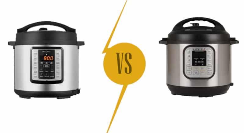 Pressure Cookers Comparison: Insignia vs. Instant Pot