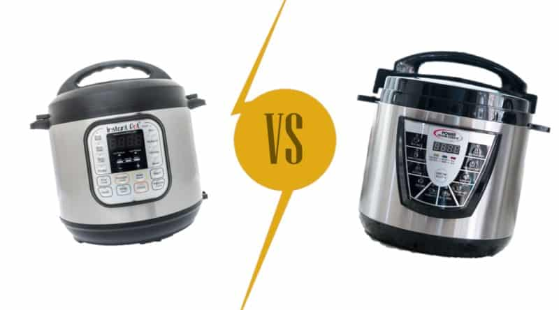 Instant Pot vs Power Pressure Cooker XL