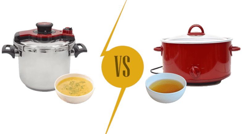 Cooking bone broth: Pressure Cooker vs. Slow Cooker