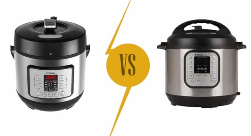 Cosori Pressure Cooker vs. Instant Pot: Which is Better?