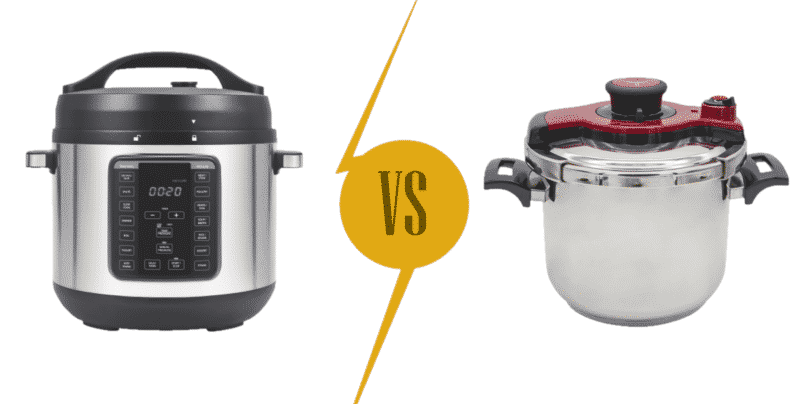 Pressure Cooker vs Gas Pressure Cooker