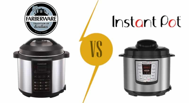 Pressure Cooker Brands Comparison: Farberware vs Instant Pot