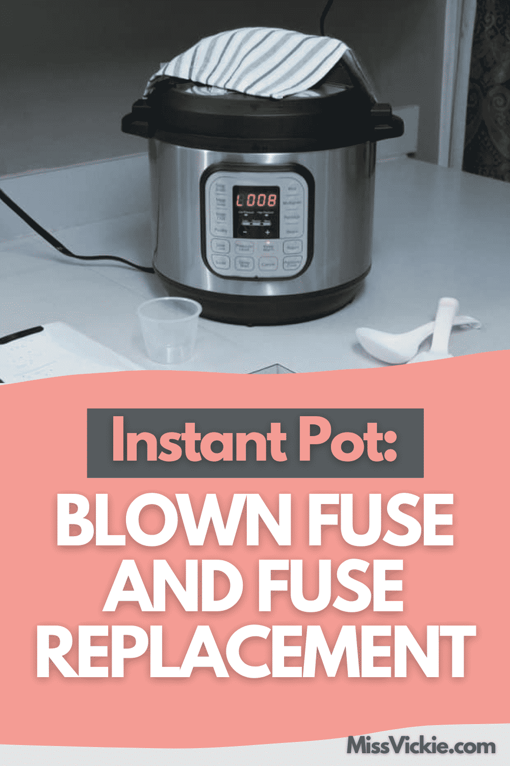 Instant Pot Blown Fuse And Fuse Replacement