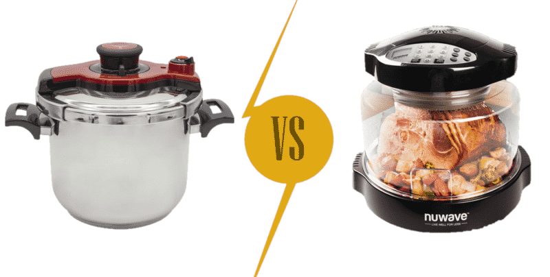 Pressure Cooker vs Nuwave Oven