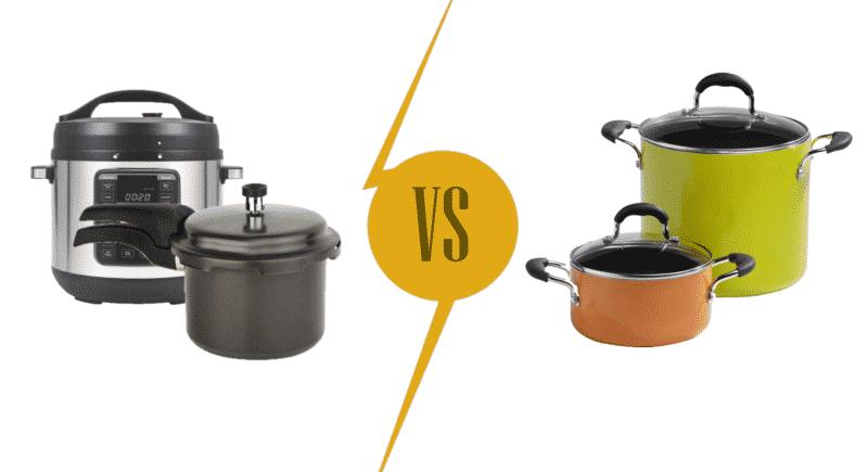Stock Pot vs. Pressure Cooker
