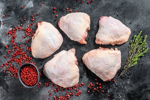 Pressure cooking chicken thighs is easy!
