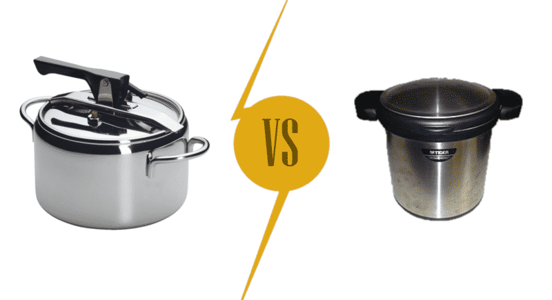 Pressure Cooker vs. Vacuum Cooker
