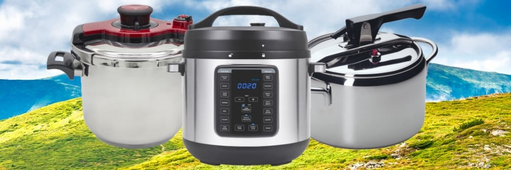 Pressure Cooking is Great for Cooking for High Altitudes