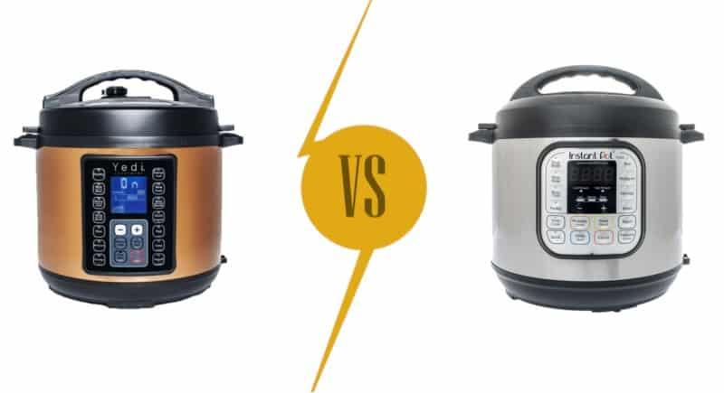 Pressure Cookers Comparison: Yedi vs. Instant Pot