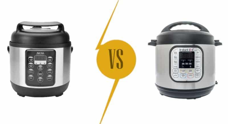 Pressure Cookers Comparison: Aroma vs. Instant Pot