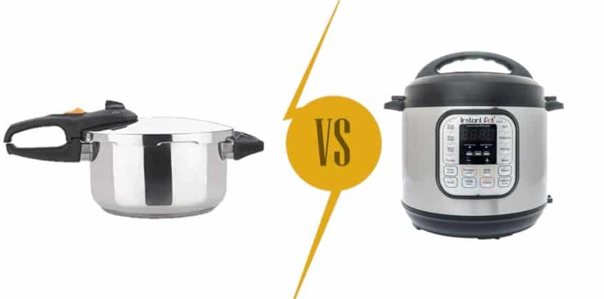 Pressure Cookers Comparison:Fagor vs. Instant Pot