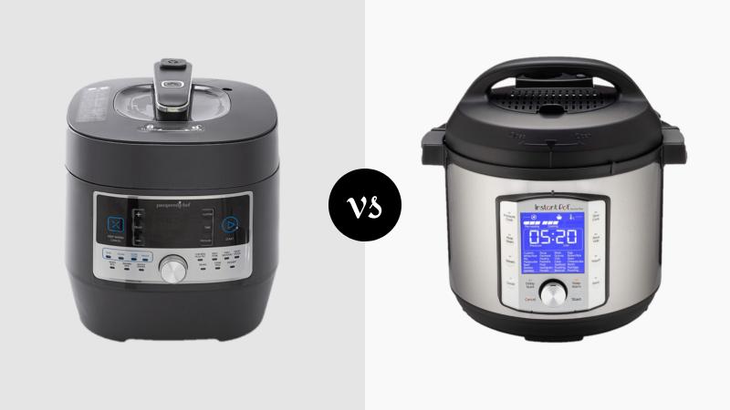 Pampered Chef Quick Cooker vs Instant Pot Pressure Cooker
