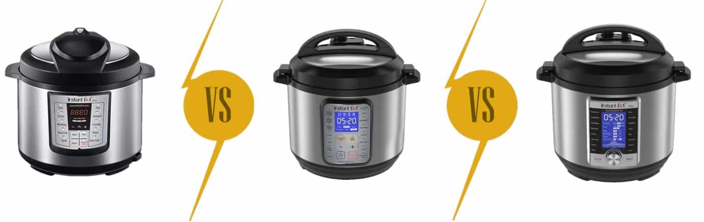 Instant Pot Pressure Cookers: Lux vs. Duo vs. Ultra