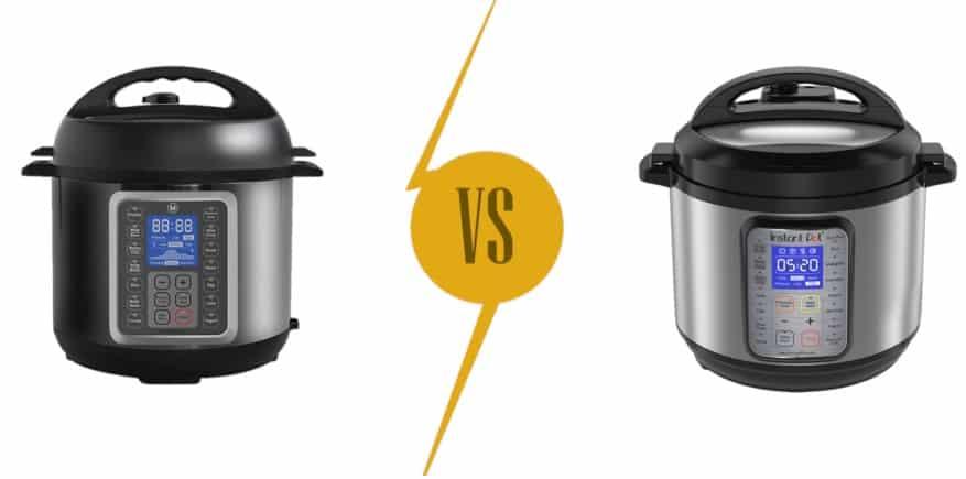 Pressure Cookers Comparison: Mealthy Multipot vs. Instant Pot