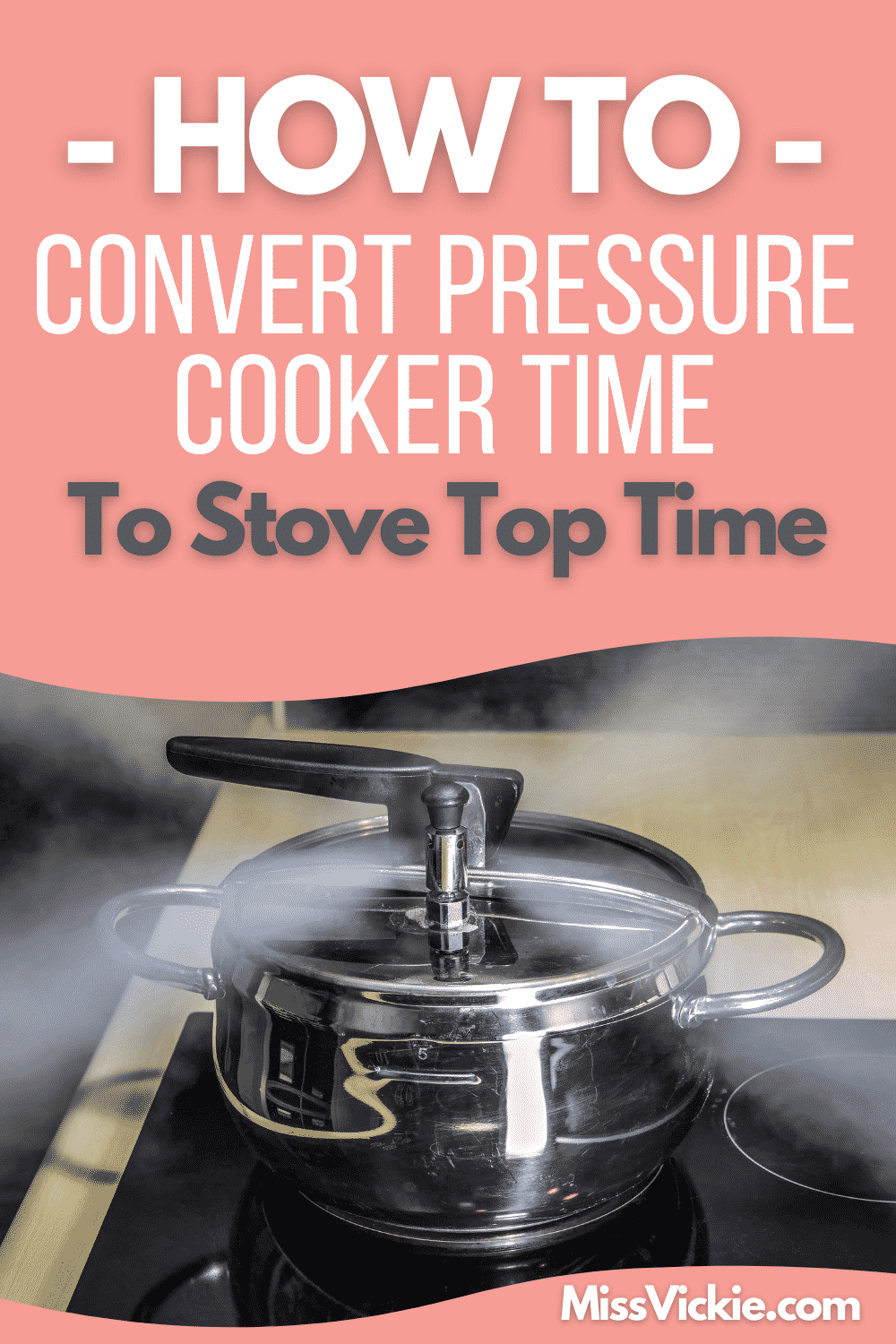 Convert Pressure Cooker Time To Stove Top
