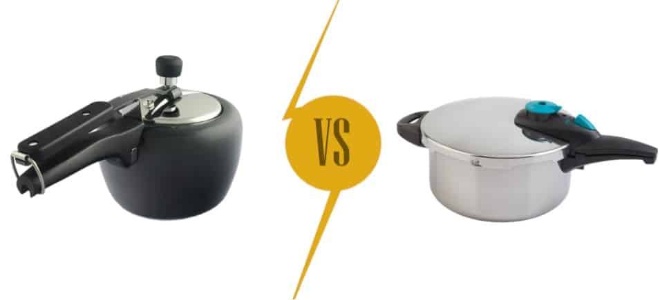 Pressure Cooker Materials: Hard-anodized vs. Stainless Steel
