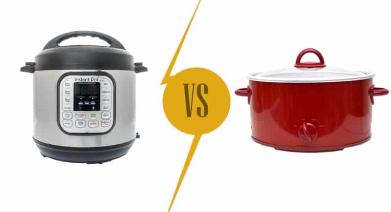 Instant Pot vs Slow Cooker Comparison