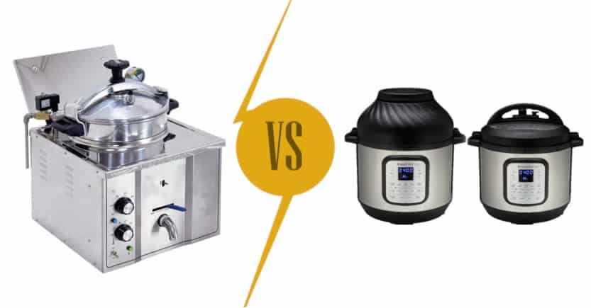 Pressure Fryer vs Pressure Cooker: Are They Similar?