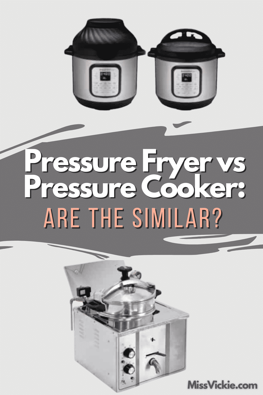 Pressure Fryer vs Pressure Cooker