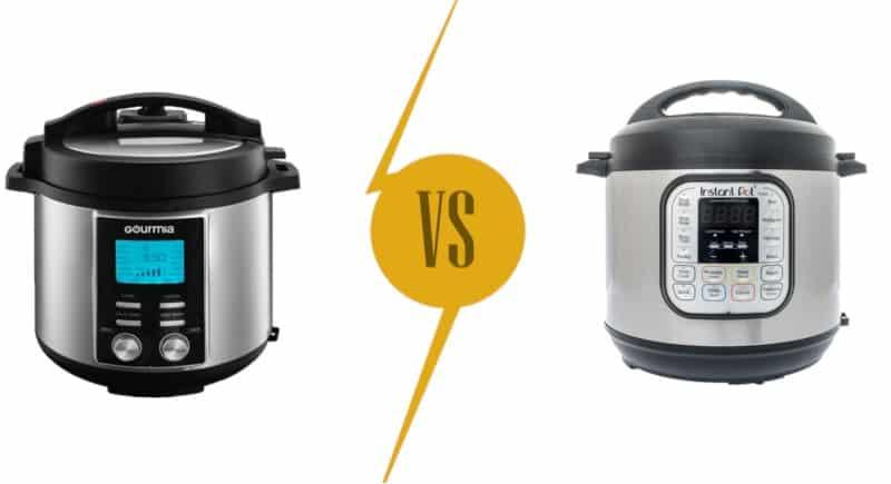 Gourmia vs Instant Pot: Pressure Cookers Comparison