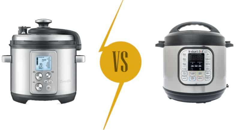 Breville vs Instant Pot Pressure Cooker Comparison