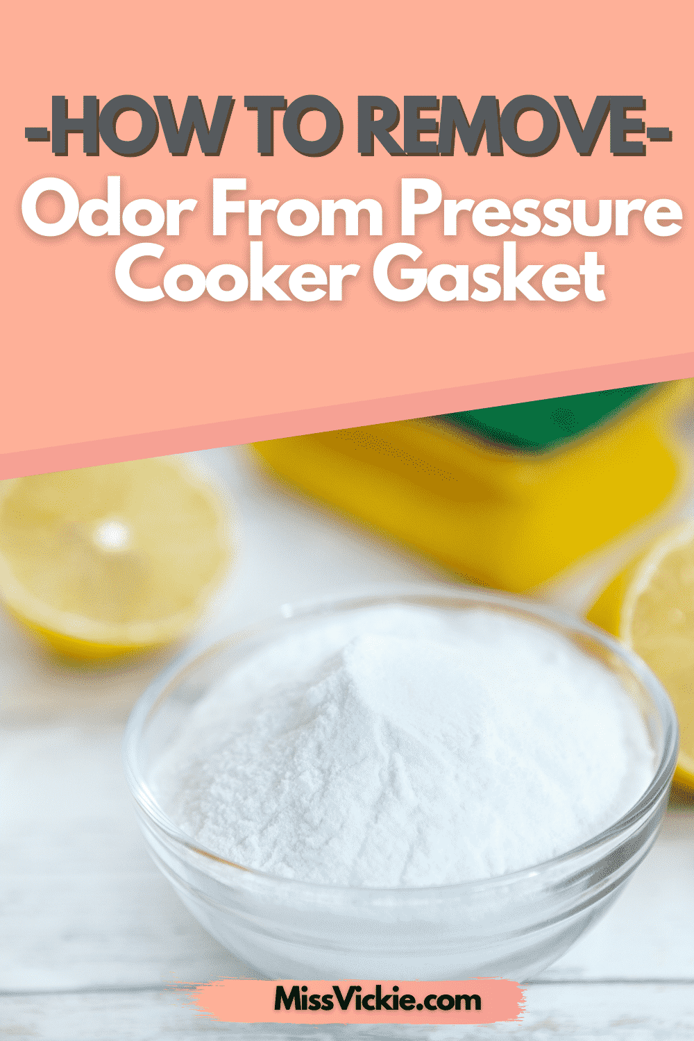 How To Remove Odor From Pressure Cooker Gasket