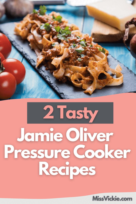 Jamie Oliver Pressure Cooker Recipes