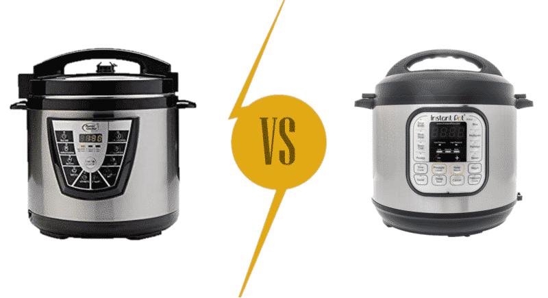 Power Cooker vs Instant Pot Pressure Cooker